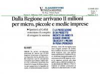 Cofidi Veneziano pronto ad erogare gli aiuti regionali per le PMI veneziane