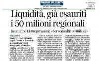 Liquidità alle microimprese: terminati i soldi messi a disposizione dalla Regione Veneto